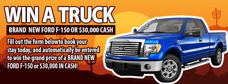 Win a Brand New Ford F-150!