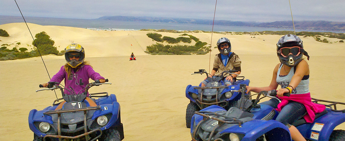 Riding the Dunes at Ocean Dunes
