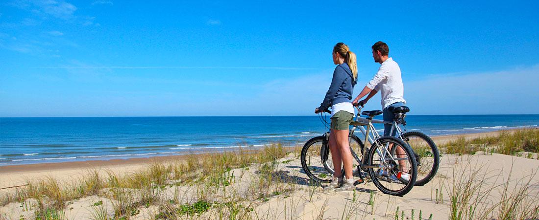 Biking near Oceano and Pismo Beach, CA