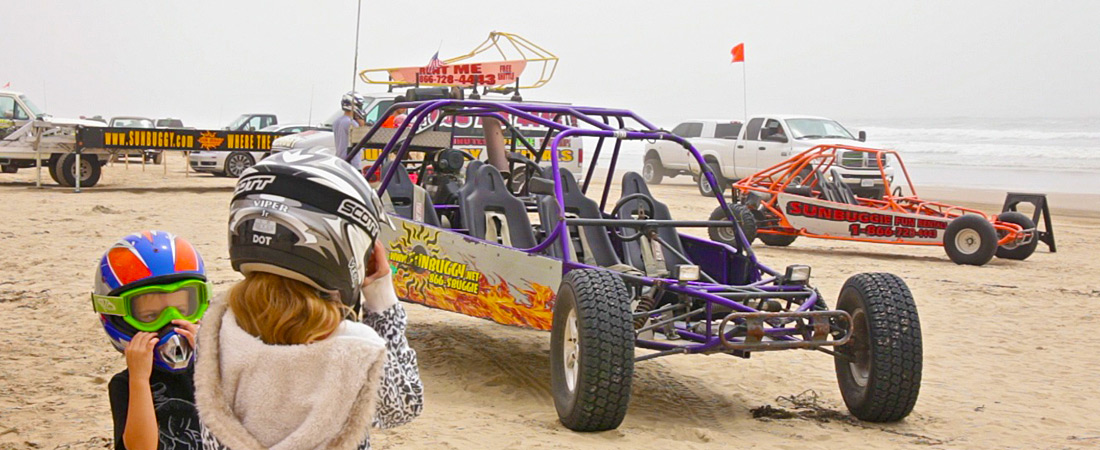 Dune Buggy on Oceano Beach