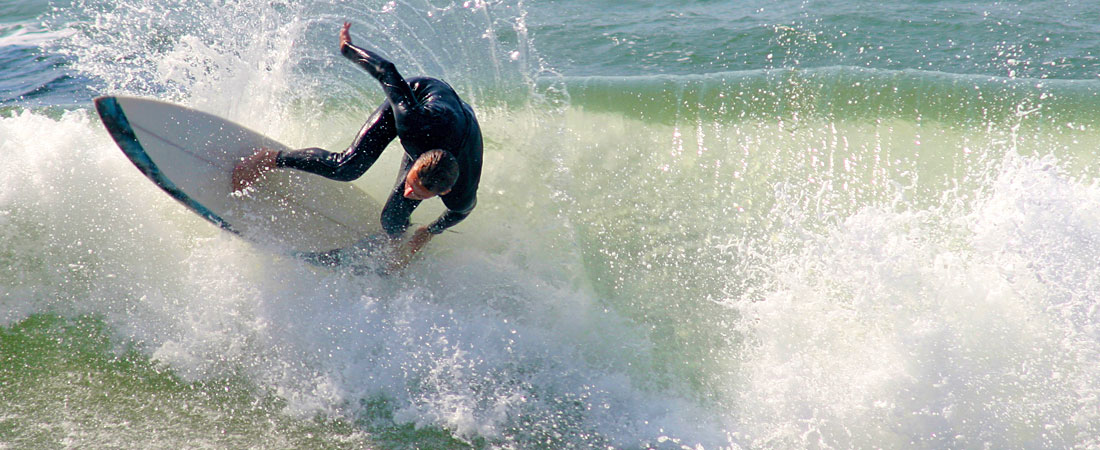 Surfing near Pismo Beach & Oceano, CA